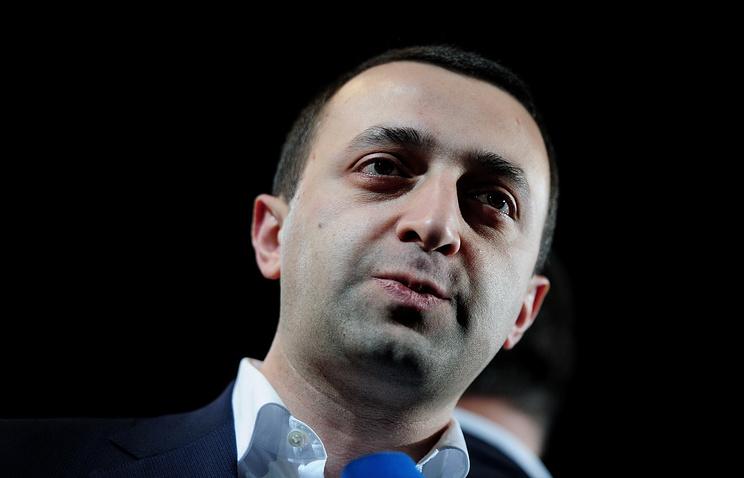 Премьер-министр республики Ираклий Гарибашвили