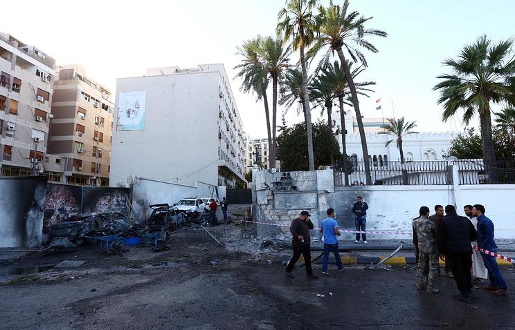 Ливия. Теракт возле посольства Египта