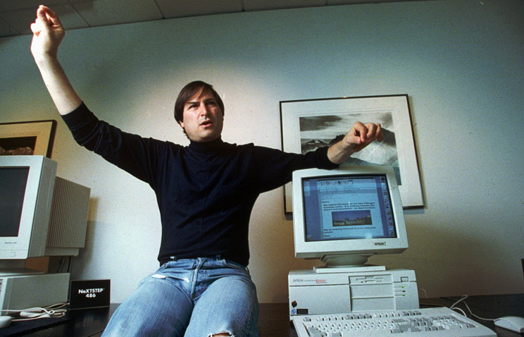 Стив Джобс. 1993 год