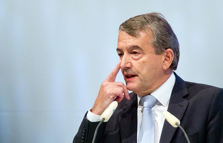 Президент Немецкого футбольного союза Вольфганг Нирсбах
