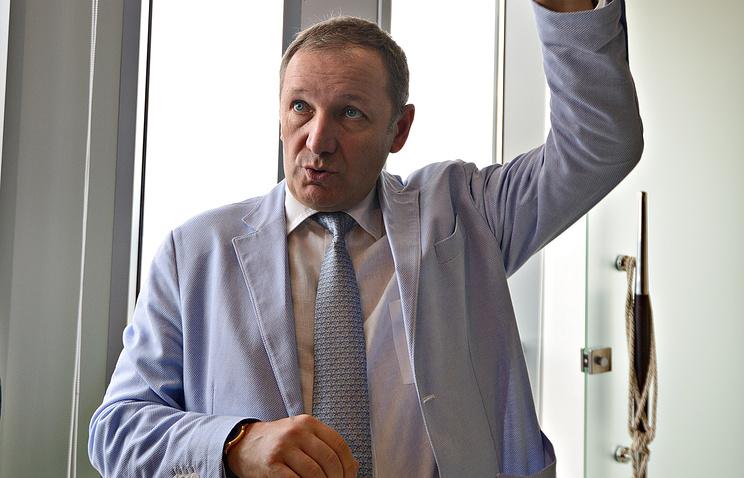 """Владелец бизнес-центра """"Высоцкий"""" Андрей Гавриловский"""