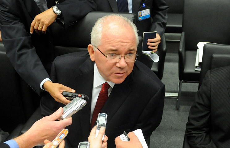 Министр иностранных дел Венесуэлы Рафаэль Рамирес