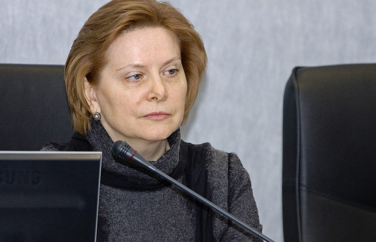 Губернатор ХМАО Наталья Комарова