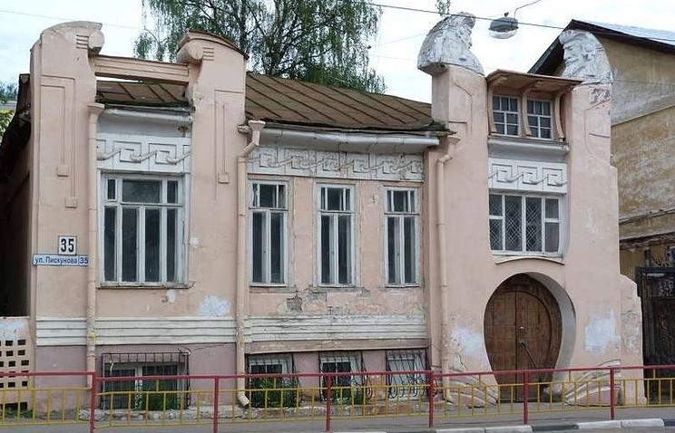 Игорный дом А.И. Троицкого (Шахматный дом)
