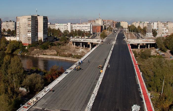 Мостовой переход через реки Старая и Новая Преголя
