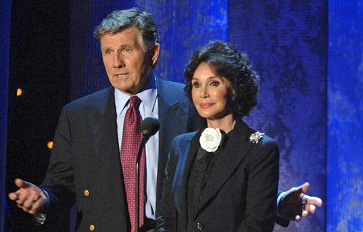 Мэри Энн Мобли и ее муж Гарри Коллинз. 2005 год