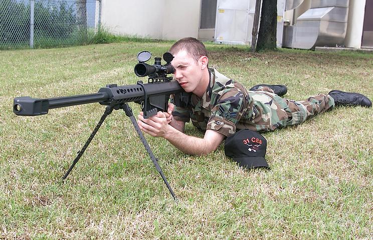 Крупнокалиберная снайперская винтовка M82 Barrett
