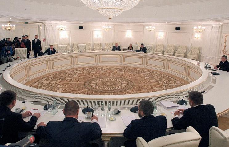 Заседание контактной группы в Минске. Сентябрь 2014 года