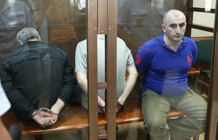 Роман Белкания, Торнике Квирикашвили и Александр Беришвили