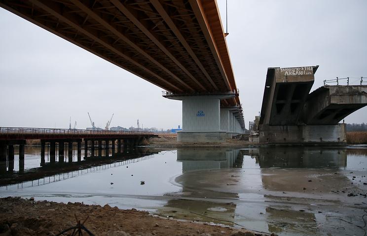 Берлинский мост в Калининграде