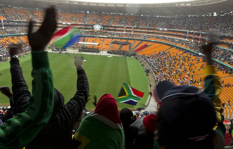 "Стадион ""Соккер Сити"" в Йоханнесбурге"