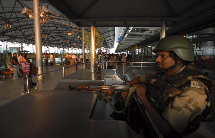 Аэропорт имени Раджива Ганди, архивное фото