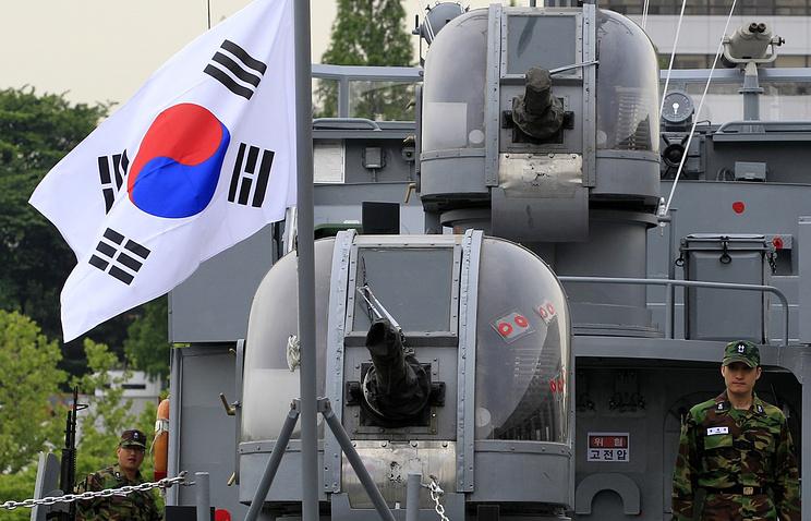 Южнокорейский патрульный катер, архивное фото
