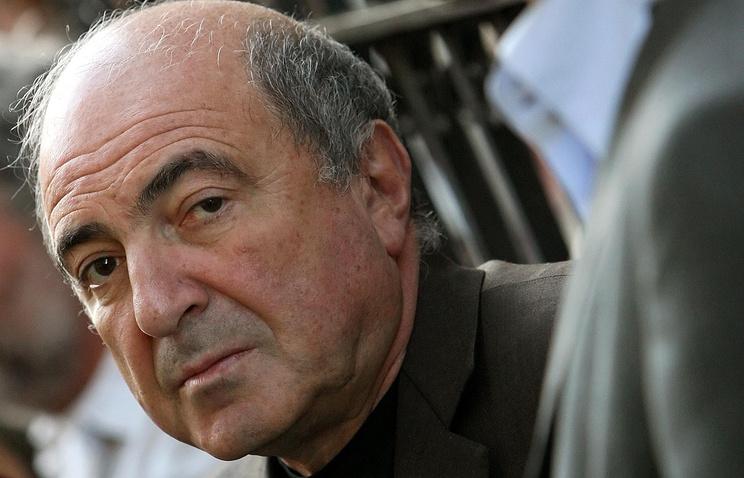 Борис Березовский, 2010 год