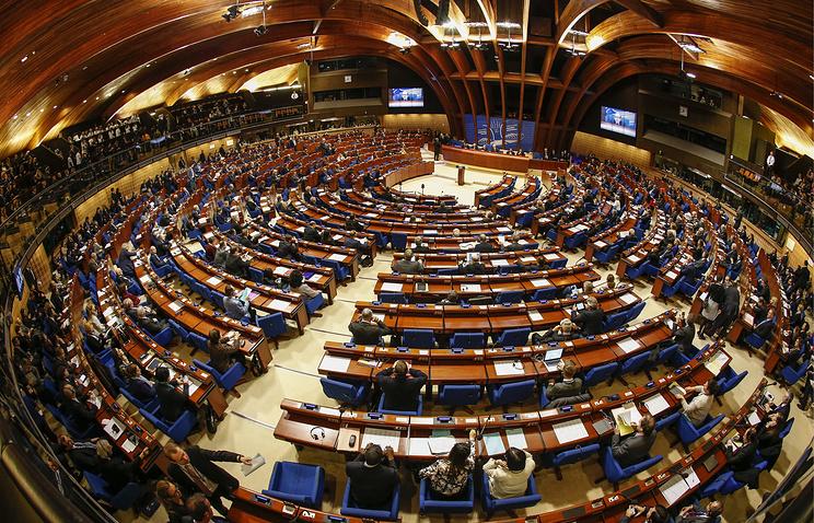 Зимняя сессия Парламентской ассамблеи Совета Европы в Страсбурге