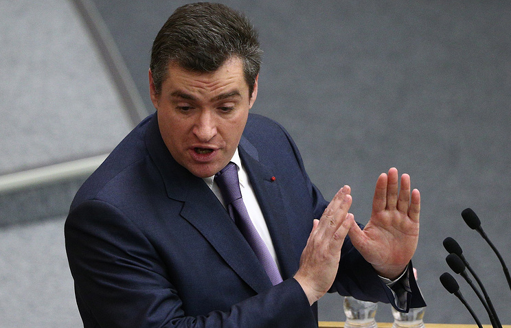 Глава комитета Госдумы по делам СНГ Леонид Слуцкий