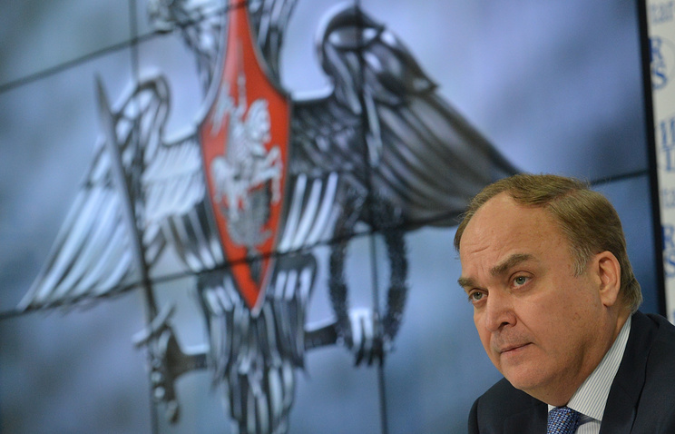Заместитель министра обороны России Анатолий Антонов