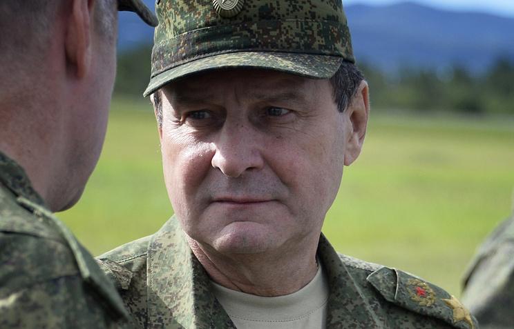 Заместитель Министра обороны Российской Федерации генерал армии Дмитрий Булгаков