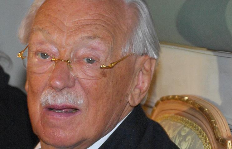 Поэт и писатель Сергей Михалков