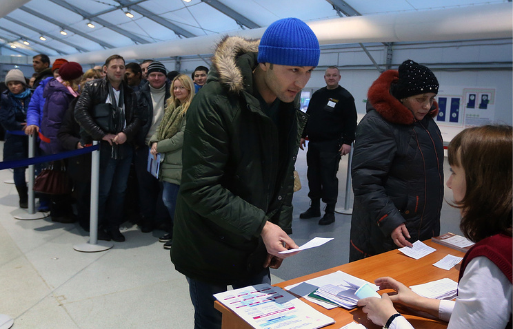 Новый миграционный центр открылся в деревне Сахарово