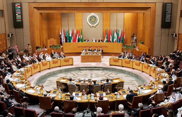 Заседание Лиги арабских государств
