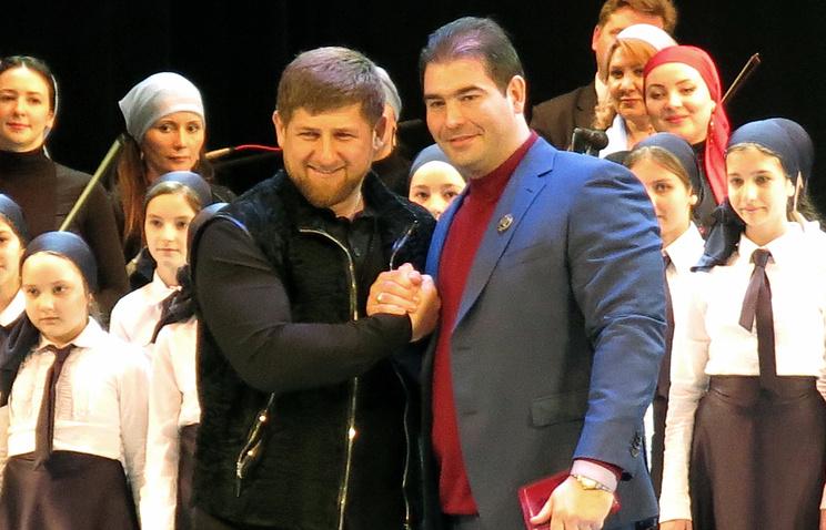 Рамзан Кадыров и Александр Шилов