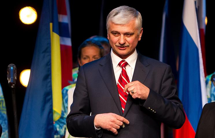 Глава Сурдлимпийского комитета России (СКР) Александр Романцов.