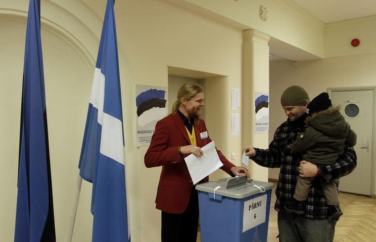 Парламентские выборы в Эстонии, 1 марта 2015 года