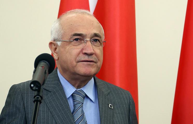 Спикер турецкого парламента Джемиль Чичек
