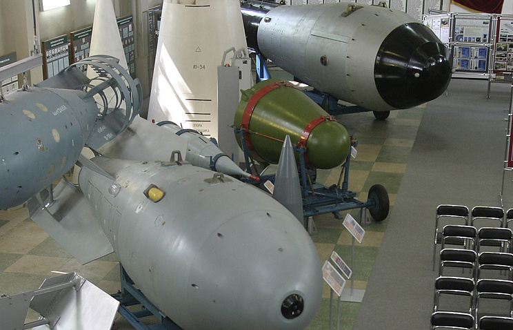 Музей  ядерного  центра (ВНИИЭФ) в  Сарове