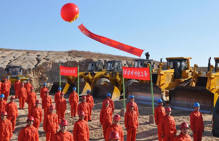 Церемония закладки строительства технологического парка, Северная Корея