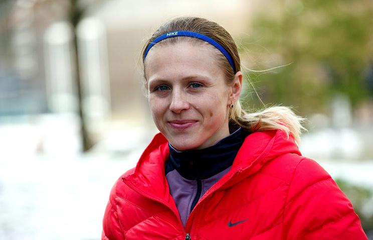 Легкоатлетка Юлия Степанова