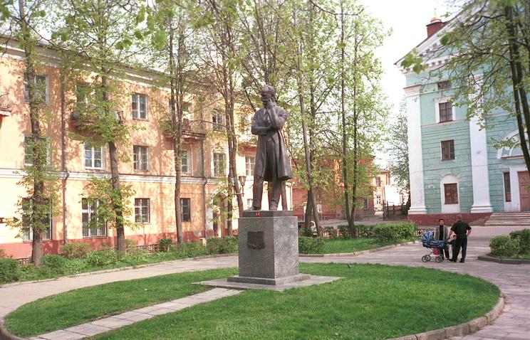 Памятник П.И. Чайковскому, Клин