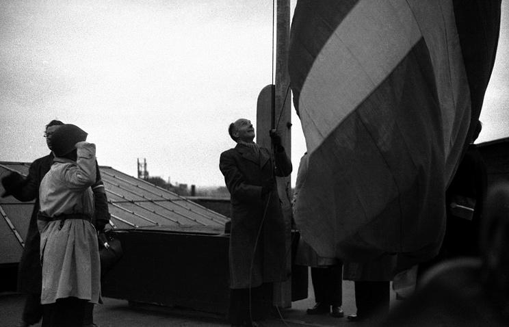 Копенгаген, май 1945 года