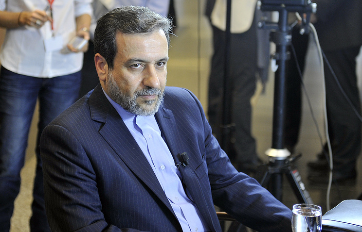 Замминистра иностранных дел ИРИ Аббас Арагчи
