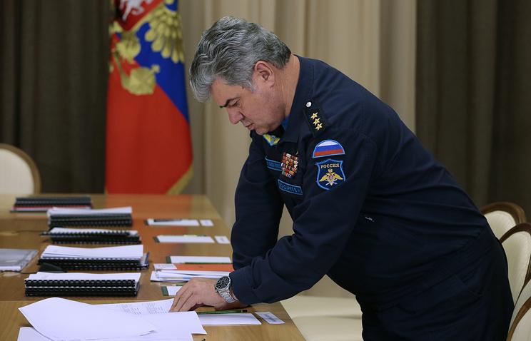 Главнокомандующий Военно-воздушными силами Виктор Бондарев