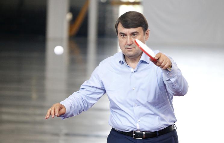 Председатель попечительского совета ФНТР, вице-президент Олимпийского комитета России, помощник президента РФ Игорь Левитин
