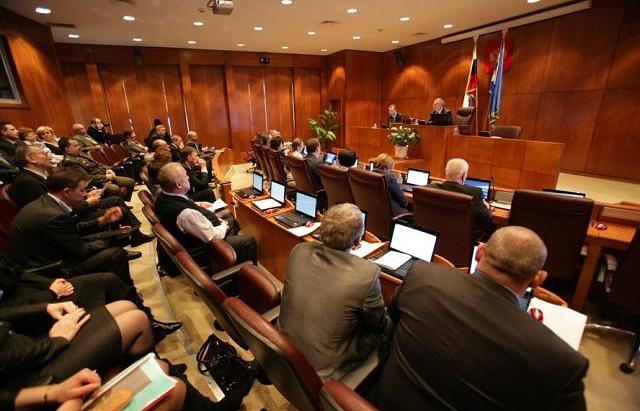 Заседание Думы Чукотского автономного округа