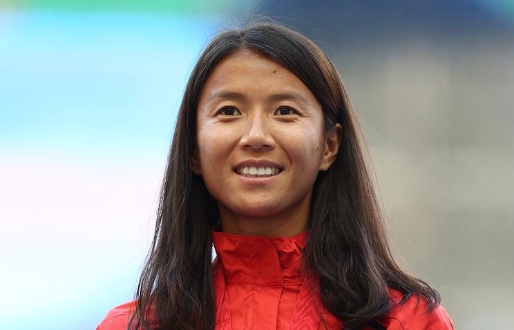 Китайская легкоатлетка Лю Хун