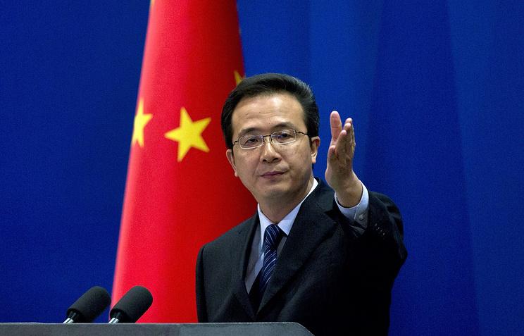 Официальный представитель МИД КНР Хун Лэй
