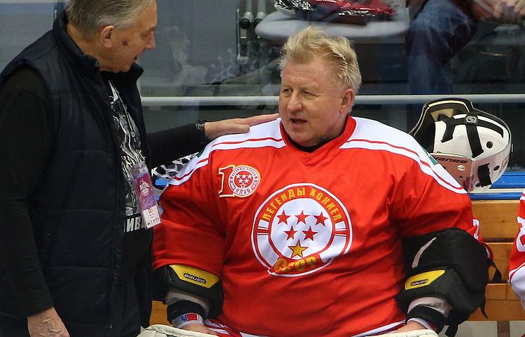 Владимир Мышкин на Матче звезд КХЛ в Сочи