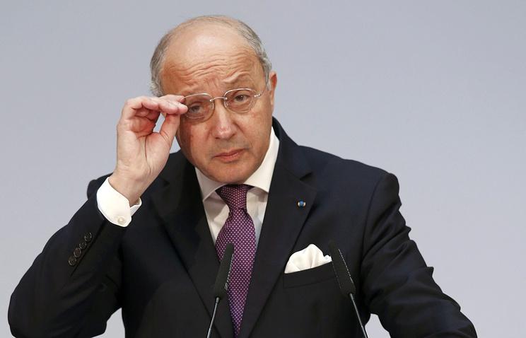 Глава МИД Франции Лорана Фабиус