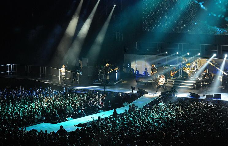 Выступление группы Queen
