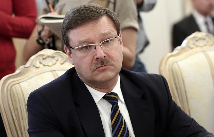 Глава комитета Совета Федерации по международным делам Константин Косачев