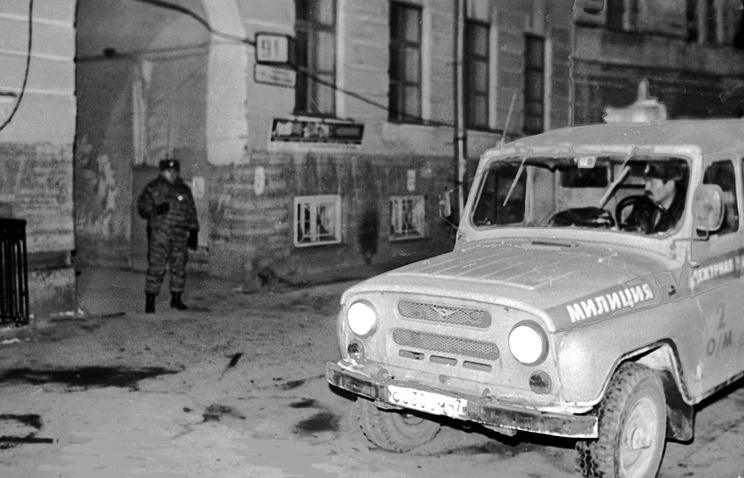 Место убийства Галины Старовойтовой, 21 ноября 1998 года