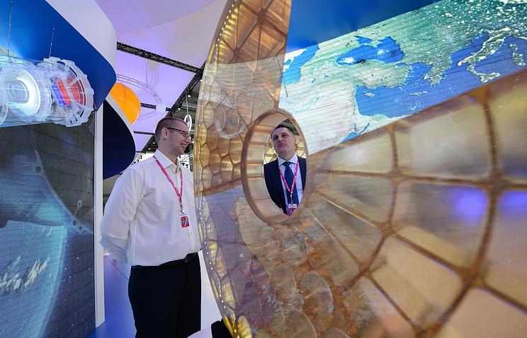 "Стенд холдинга ""Швабе"" на выставке ""Иннопром"""