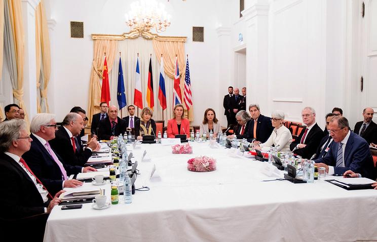 """Переговоры """"шестерки"""" и  Ирана в  Вене"""