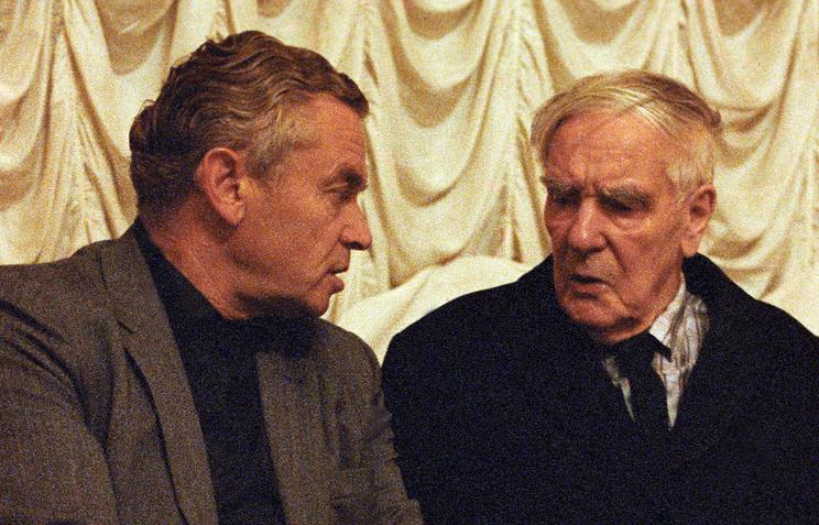 Академики Олег Белоцерковский и Петр Капица, 1982 год