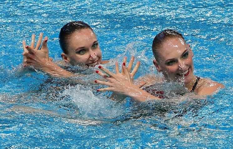 Наталья Ищенко и Светлана Ромашин