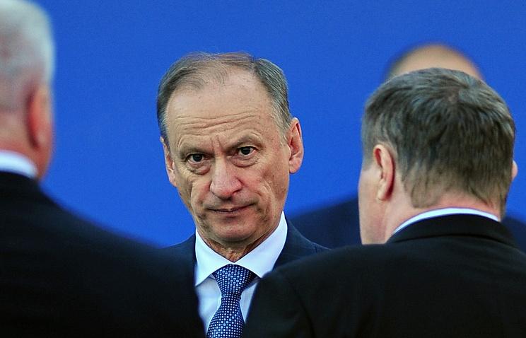 Cекретарь Совета безопасности РФ Николай Патрушев